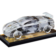 K9 Crystal Glass Antique Car model for In-car Decoration or Business cooperation Gift
