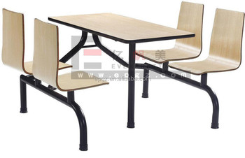 School Canteen Table and Chair