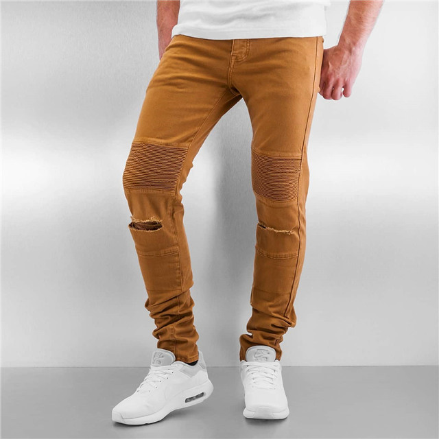 Customized professional newest garment jeans jeans man fashion