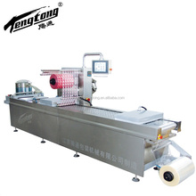 Fruit and vegetables automatic vacuum packing machine , thermoforming vacuum sealing machine