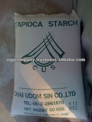 Thailand High Quality White Tapioca Starch for Sale