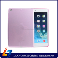 High Quality For iPad Mini TPU case, transparent customized tpu cover for ipad mini
