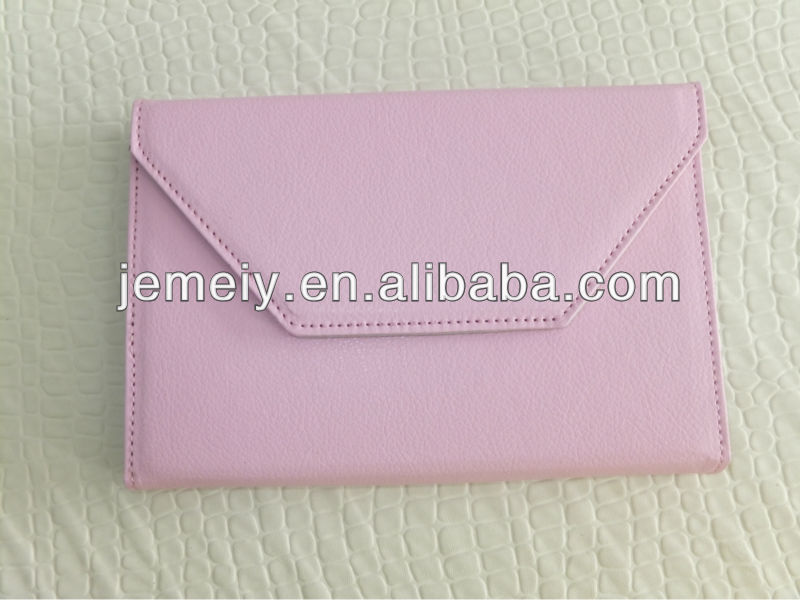 360 degree rotating envelope leather case for Samsung GALAXY Tab P6200