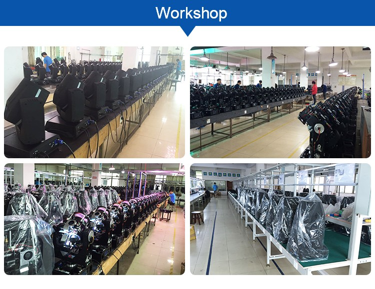 Hot selling cheap in factory manufacturer moving head light goods in stock zoom led wash moving head