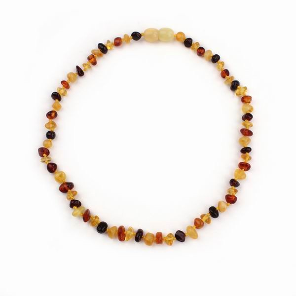 Wholesale Fashion Jewelry Fast Delivery Amber Baby Teething Necklace