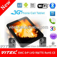 "Hot selling 8"" Rockchip Dual camare very cheap android Tablet pc with camera 30w"