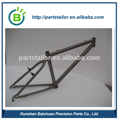 BCS0814 Carbon steel mountain bicycle frame