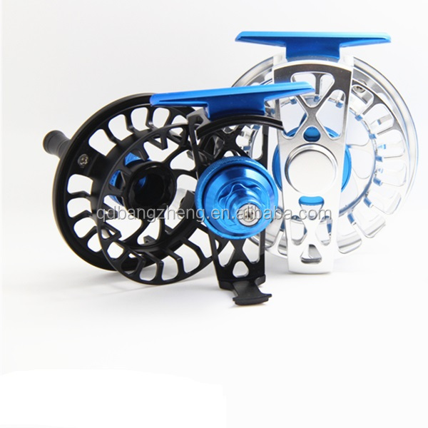 100% Sealed multi carbon disc drag system CNC Machine cut Semi-Frame smooth fly reel