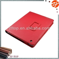 two folded standing leather case for ipad 2 3 4 5,for ipad air pu bumper case