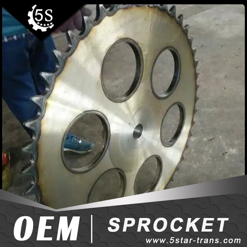 high quality big sprockets from Chinese manufacturer