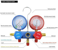 AC Manifold Gauge Set with two way Automotive AC Refrigeration MST-134A