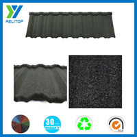 Colorful sand coated metal roof/aluminum zinc steel roof tile