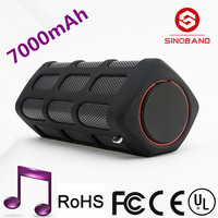SINOBAND S400 High-End Best Design Super Base Good Quality Mini Portable Bluetooth Speaker