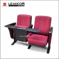 LEADCOM high quality folding auditorium chair schoolwith tablet LS-10601P