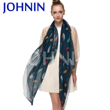 Customized Digital Printing Fashionable Women Chiffon Scarf