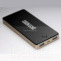 Factory direct high quality 8000mAh polymer cell advertising mobile power bank for all smart phones