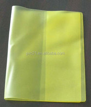 2015 new soft school plastic book cover made in china