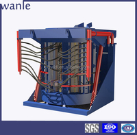 china supplier copper melting machine electric furnaces for melting steel scrap and ingot scrap