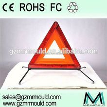 top level folding plastic warning triangle