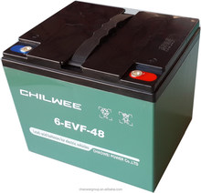EVF Series VRLA Gel Battery for Electric Vehicles, 12V 52Ah at 20hr rate