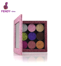 Private Label Make Up Cosmetics no brand wholesale makeup Pressed Glitter Eyeshadow