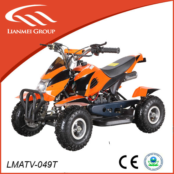 cheap gas four wheelers pocket atv 49cc quad for kids with CE