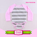 Design Your Own Onesie Baby Girls Raglan Baseball Onesie Jersey Creeper Long Sleeve Stripes Blank Raglan Baby Romper