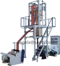 Two Color PE Polythene Plastic Film Blowing Machine with CE