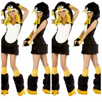 AWC-269YIWU caddy 2015 New Design sexy halloween Penguin Animal Carnival Costume