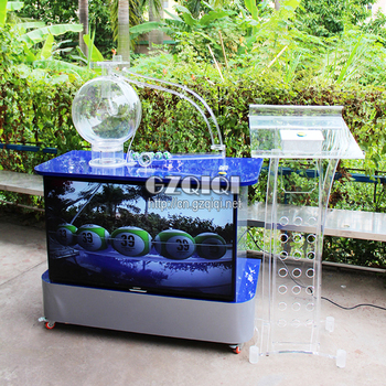 Lucky draw machines entertainment game machine air blowing lottery amusement equipment for gambling