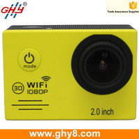 Factory Wholesales 2.0inch Wifi Remote Control HD 60fps 1080p Sports Action Camera SJ7000