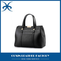 Fancy color bulky good quality pu leather material ladies handbag with low price