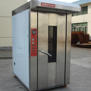 Factory supply quality energy-efficient bakery rotary gas oven