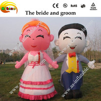 Commercial use durable inflatable cartoon products