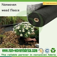 PP Spunbond Non woven Black Mulching Film/Weed Control Fabric/Black Ground Cover