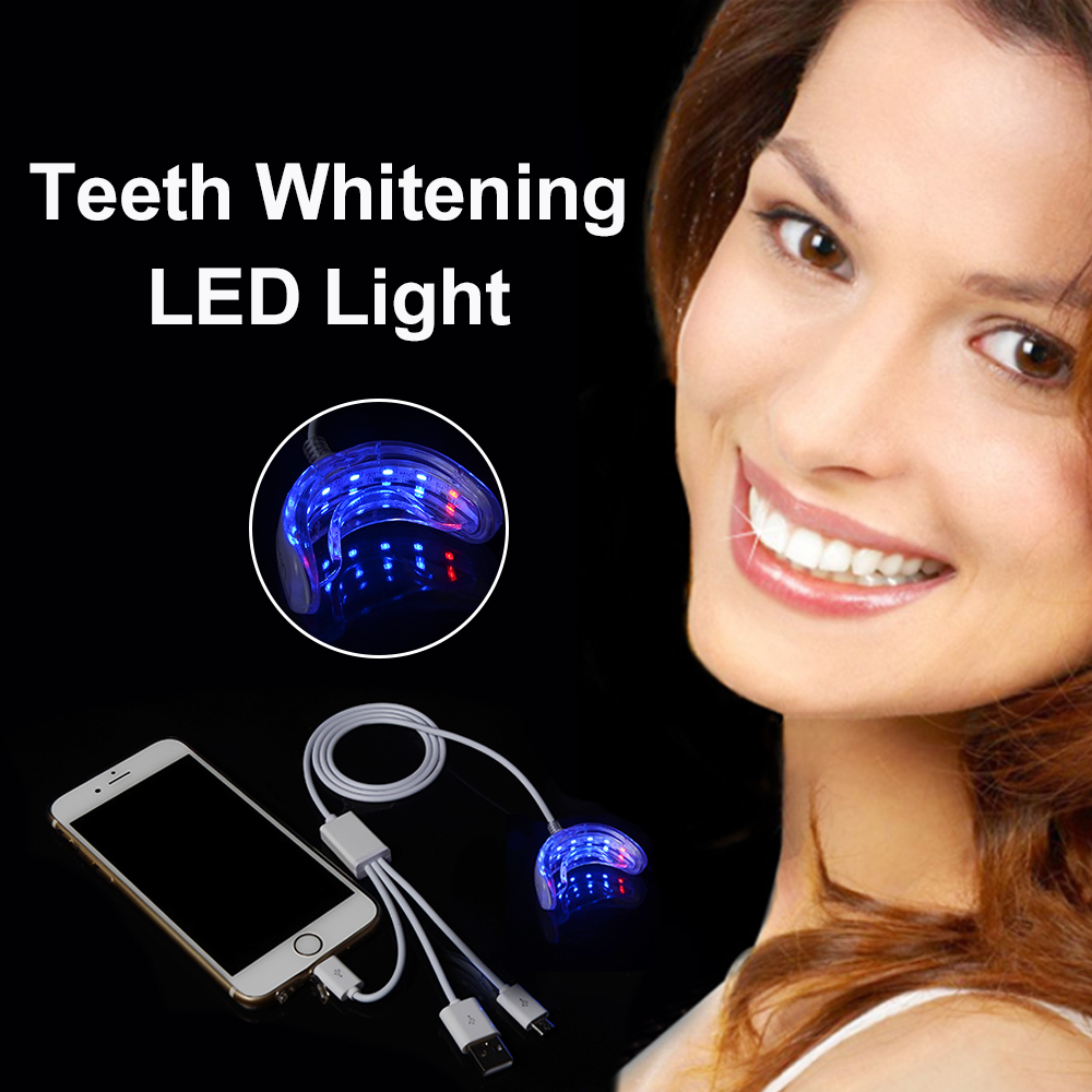 New Professional Mobile Phone Led equipment LED Laser Teeth Whitening Accelerator Light blue UV Dental Plasma Bleaching