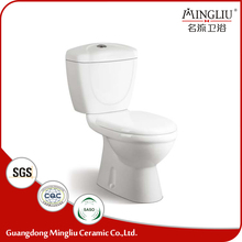 Hot sale indoor ceramic two piece indian ladies toilet wholesale