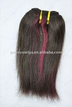 16'' Indian silky straight hair weave