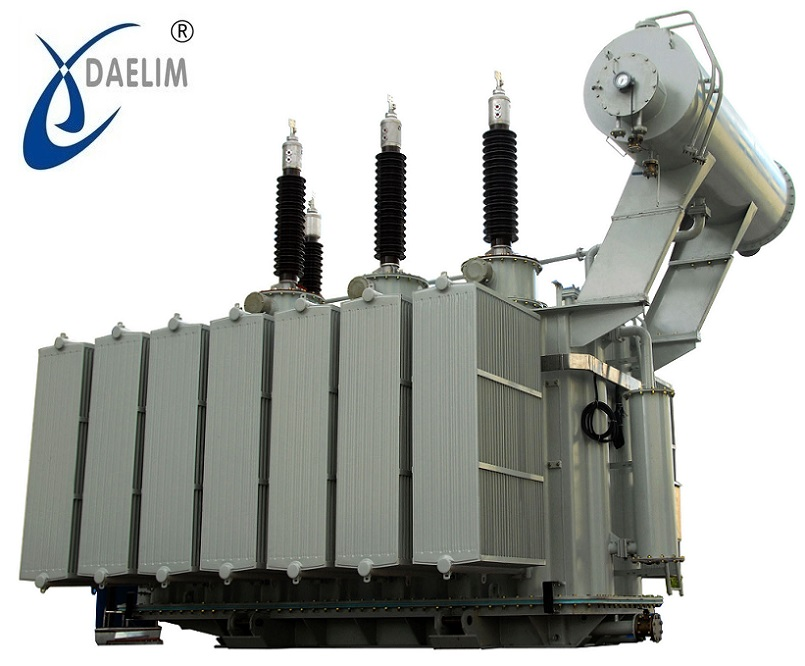 High voltage 138 kv 15 mv oltc transformer stepdown