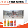 High speed Automatic Hot Fruit Juice Filling Production Line/mango orange apple Filling Machine with new condition