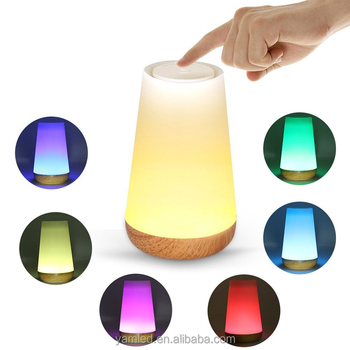 Smart home automation house portable wireless speakers with Mini Speaker LED Table Desk Lamp