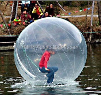 Best quality new design funny kids enjoyable inflatable zorb ball on water