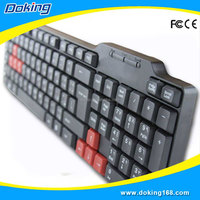 Micro Computer Wired Multimedia Gaming Keyboard