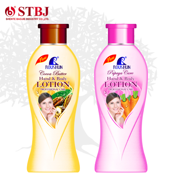 Roushun Cocoa butter lotion/Carrot Hand & Body lotion 500ml