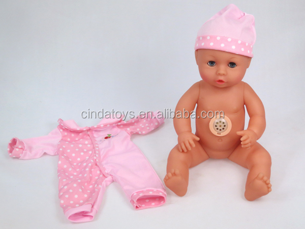 Hot reborn vinyl doll pullip Drink and Pee function talking toy dolls with clothes and Feeding Bottle reborn baby dolls