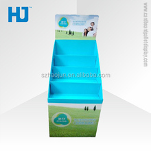 Beverages, health supplies, food and other convenience store sales promotion, publicity paper display stand