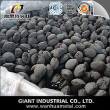 Calcium oxide briquette with large stock