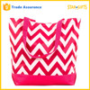 China Supplier Wholesale Chevron Tote Bag For Beach