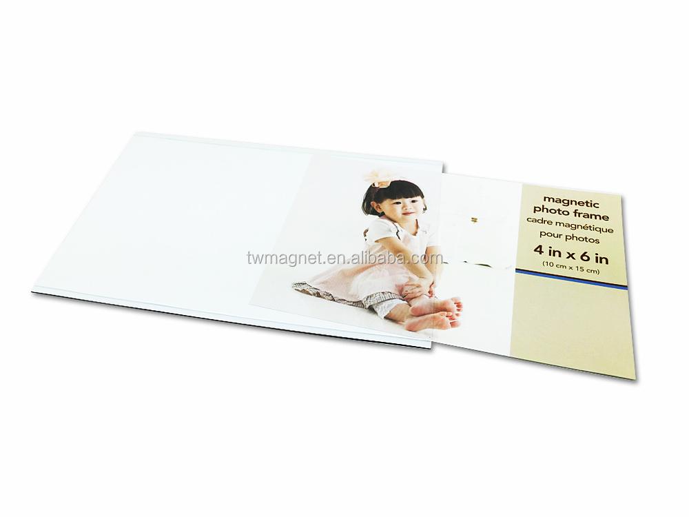 High Quality Custom Popular Pvc 4x6 Fridge Magnet Photo