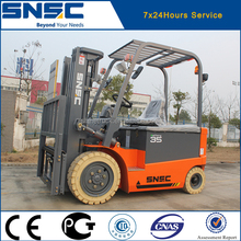 battery electric forklift/battery fork lift truck/charger battery forklift